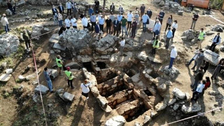 Marmaris'te Bulunan Amos Antik Kenti'nde Yeni Tarihi Buluntulara Rastlandı