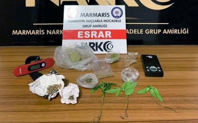 Muğla'da 5 Uyuşturucu Operasyonunda 2 Gözaltı