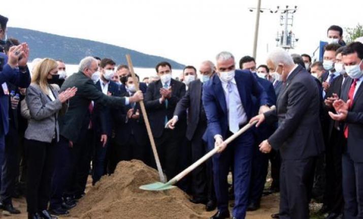 Bakan Ersoy, Bodrum'un Alt Yapı ve Kanalizasyon Temelini Attı