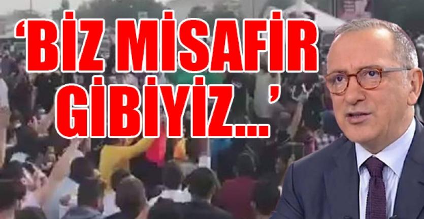 """Fatih Altaylı Canlı Yayında İsyan Etti: """"Türkiye'yi Suriye'ye Savaşsız Kaybettik"""""""