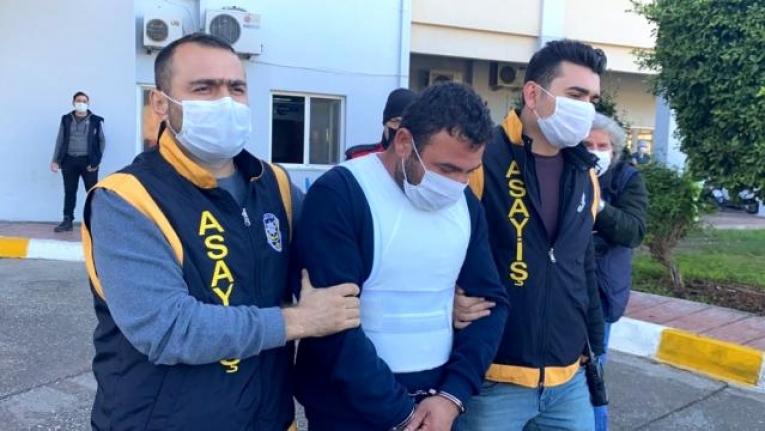 Fethiye'de Karısını Öldürdükten Sonra Ormana Saklanan Cani Koca, Tutuklandı!