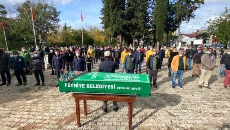 İzmir'de Eski Eşi Tarafından Öldürülen Fulya Öztürk, Fethiye'de Defnedildi