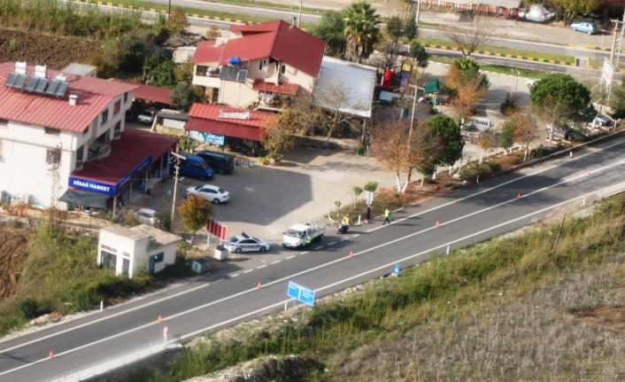Jandarma'dan Marmaris'te Helikopter İle Havadan Trafik Denetimi