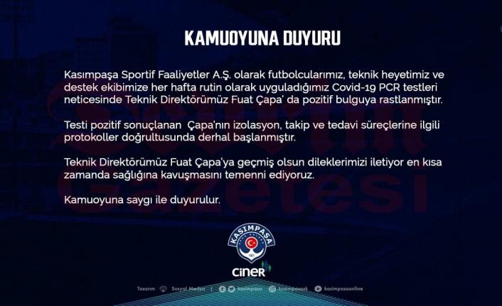 Kasımpaşa, Muğlaspor Maçına Teknik Direktörsüz Çıkacak