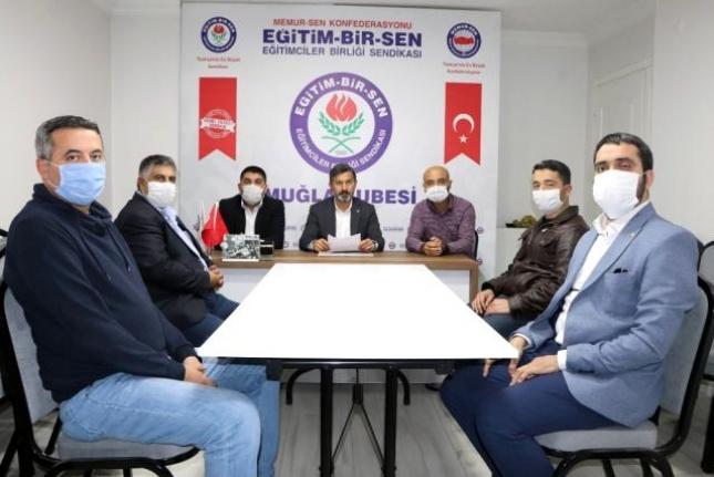 Köyceğiz'de Okul Müdürüne Bıçaklı Saldırıya Eğitim Bir-Sen'den Tepki!