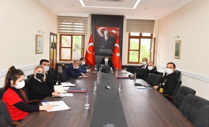 Muğla'da Covid-19 Salgınıyla Mücadele Toplantısı Yapıldı