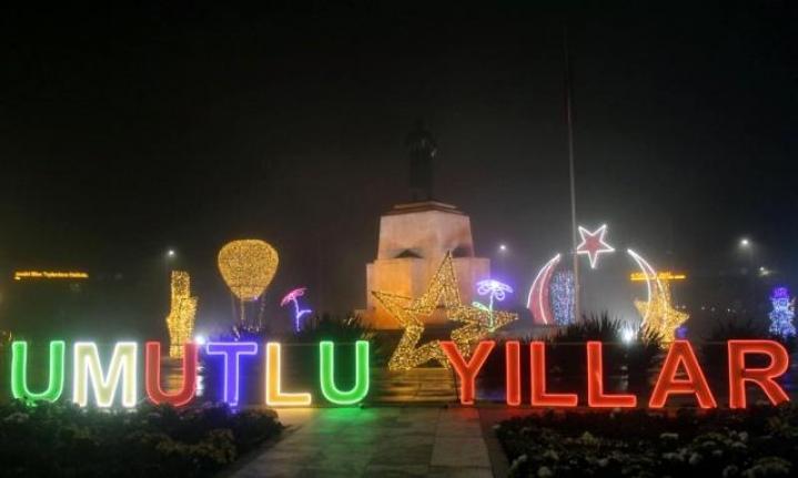 Muğla'nın Yeni Yıl Teması 'Umutlu Yıllar'