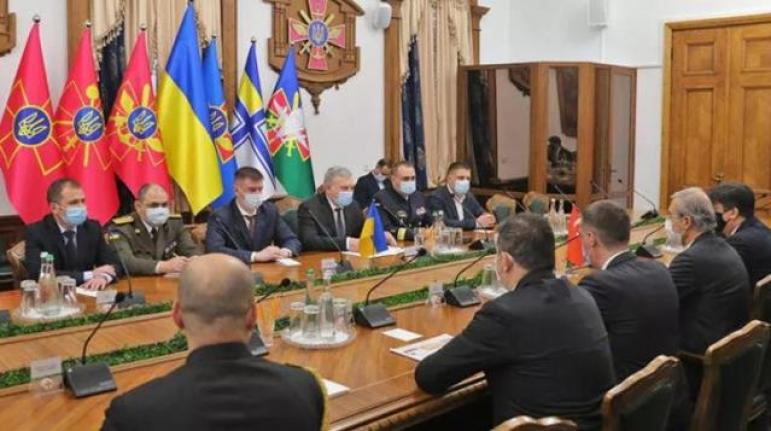 Ukrayna, Türkiye İle Korvet ve SİHA Üretimi Konusunda Anlaşma İmzalandı