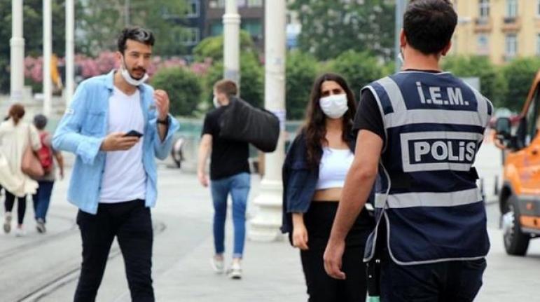 Yargıtay'dan Maske Kararı: Polis Ceza Kesemez, Caddelere Uyarı Levhası Asılmalı