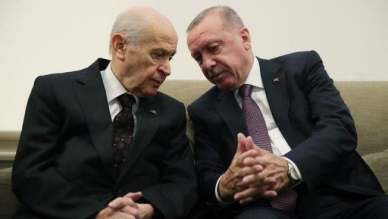 AK Parti, MHP'ye Sunacağı Çalışmaya Son Şeklini Verdi! Seçim Barajı Yüzde 7 Oluyor