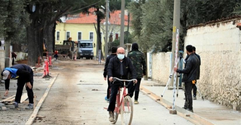 """""""Bisiklet Kenti"""" Ula'da Bisiklet Yolları Yapılıyor"""
