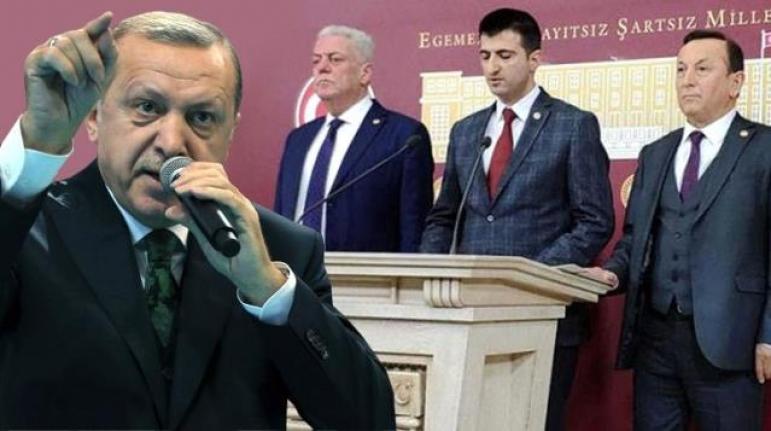 CHP'deki İstifalara Erdoğan'dan İlk Yorum: AK Parti'yi Suçlamak Yüzsüzlük, Pişkinliktir