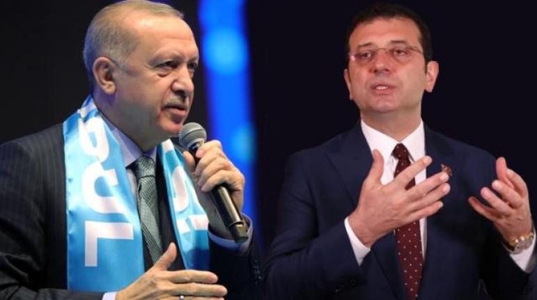 """İmamoğlu'ndan Erdoğan'ın """"İnadına Kanal İstanbul'u Yapacağız"""" Sözlerine Yanıt"""