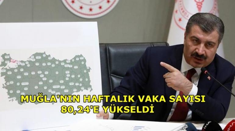 Bakan Koca, İllere Göre Haftalık Vaka Sayısının Güncel Halini Paylaştı!