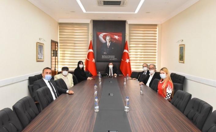 Dalaman Sarsala Spor Kulübünden Vali Orhan Tavlı'ya Ziyaret