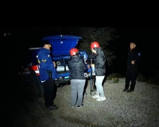 Fethiye'de Doğa Yürüyüşünde Kaybolan 2 Arkadaşı Jandarma Buldu