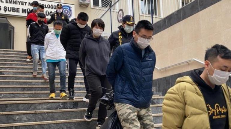 İstanbul'da Kripto Para Çetesine Operasyon: 119 Çinli Gözaltına Alındı