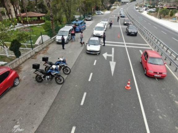 Muğla'da Jandarmadan 'Huzurlu Sokaklar' Denetimi