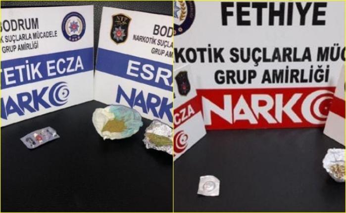 Muğla'da Uyuşturucu Operasyonu: 2 Tutuklama