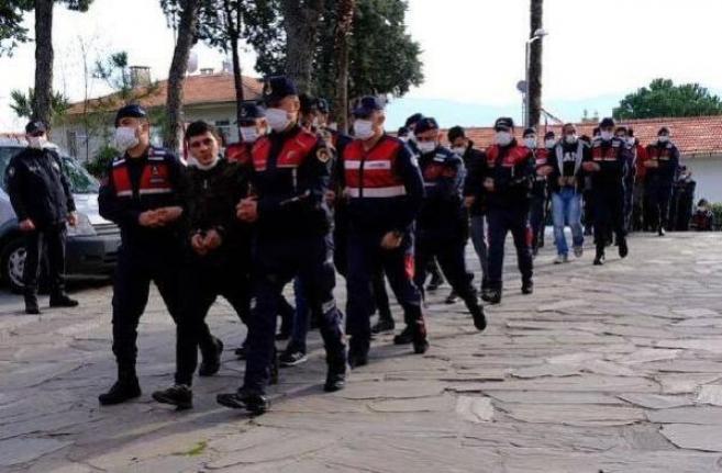 Muğla ve Aydın'da Suç Örgütüne Yönelik Operasyonda 16 Şüpheli Yakalandı