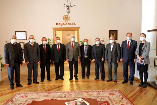Muğla Ziraat Odaları'ndan Başkan Gürün'e Ziyaret