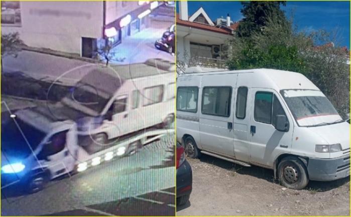 Datça'da Çekiciyle Minibüs Çalan 2 Şüpheli Yakalandı