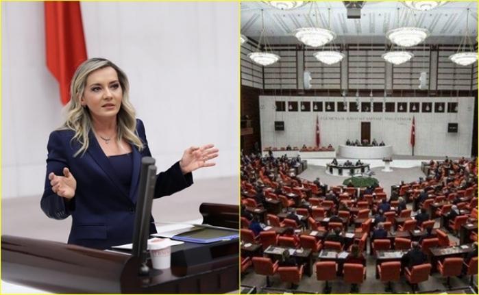 İYİ Parti Milletvekili Aylin Cesur'un Esnafa Destek Önergesi AK Parti ve MHP Oylarıyla Reddedildi
