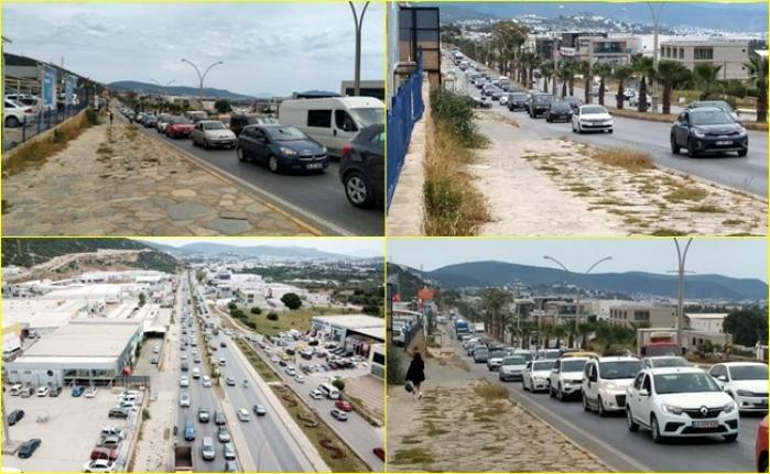 'Tam Kapanma' Öncesi Vatandaşlar Bodrum'a Akın Etti