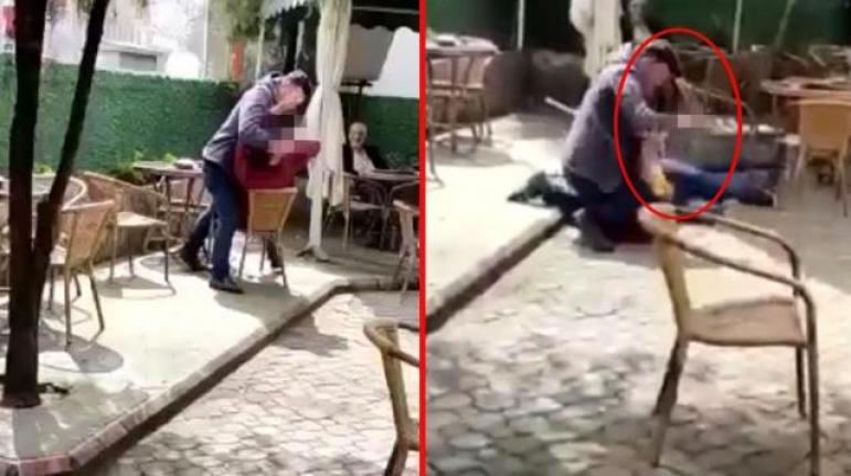Uygunsuz Mesaj Atarak Karısını Taciz Eden Şahsı Defalarca Bıçakladı