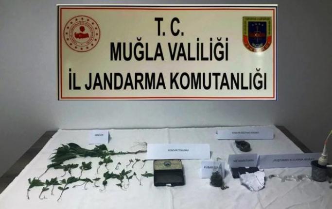 Bodrum'da Jandarmadan Uyuşturucu Operasyonu