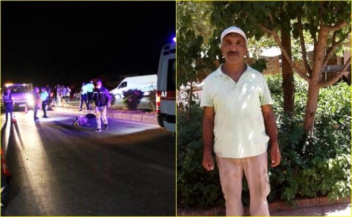 Bodrum'da Yolun Karşısına Geçmek İsterken Motosiklet Çarpan Otel Personeli Hayatını Kaybetti