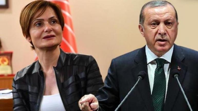 Cumhurbaşkanı Erdoğan'dan CHP'li Kaftancıoğlu'na 500 Bin Liralık Tazminat Davası