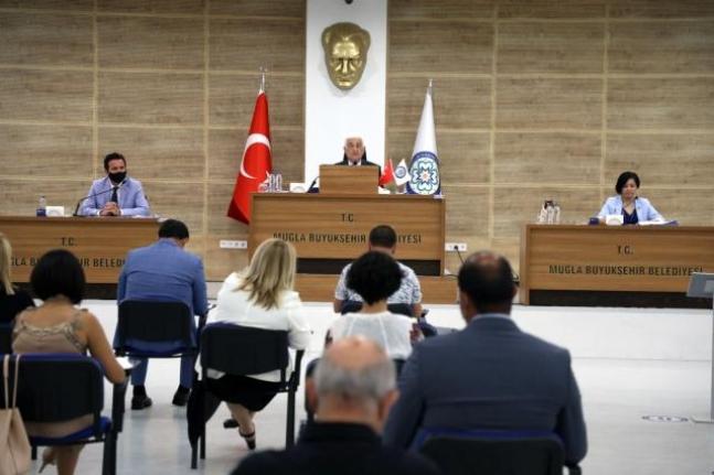 Muğla Büyükşehir Meclisi İsrail'i Kınadı