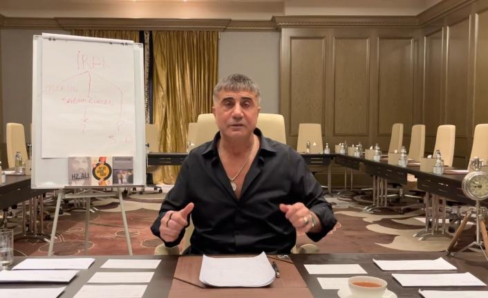 Sedat Peker 7'nci Videosunu Yayımladı: Yeni Kokain Rotasını Binali Yıldırım'ın Oğlu Erkan Yıldırım Kurdu