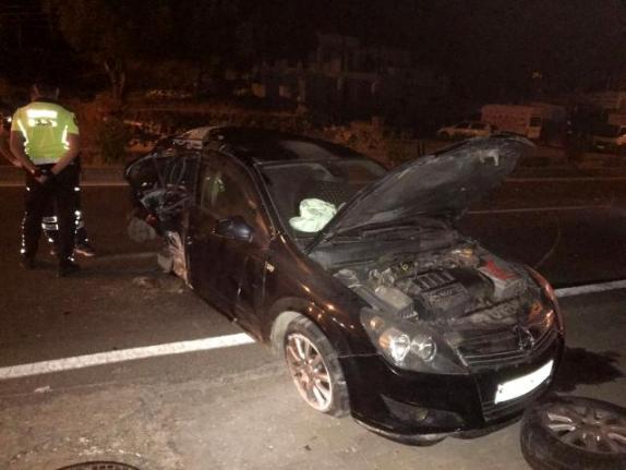 Bodrum'da Meydana Gelen Trafik Kazasında 1 Kişi Hayatını Kaybederken 3 Kişi Yaralandı