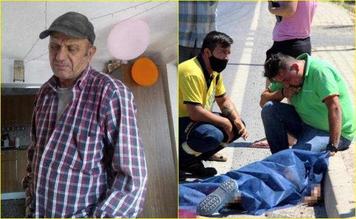 Bodrum'daki Korkunç Kazada Babasını Kaybetti, Çaresizce Başında Ağladı