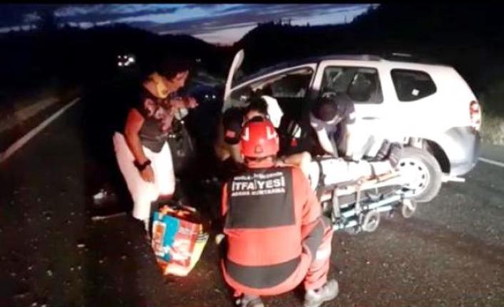 Köyceğiz Yolunda Meydana Gelen Kazada 2 Kişi Yaralandı
