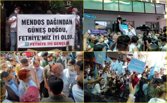 Meral Akşener'e Muğla'da Sıcak Karşılama