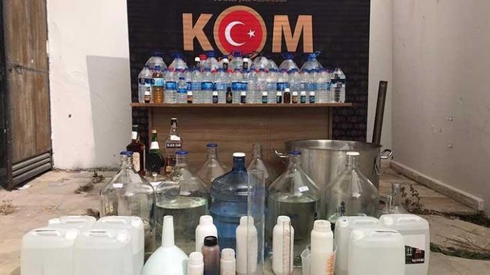 Muğla'da Sahte İçki ve Kaçakçılık Operasyonunda 2 Kişi Tutuklandı