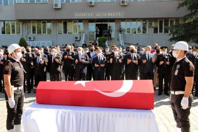 Şehit Polis Memuru İçin Muğla'da Tören Düzenlendi