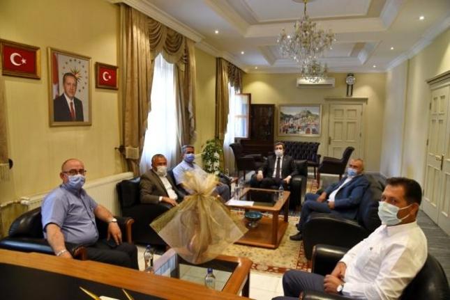 Yatağan Muhtarlar Derneği'nden Vali Orhan Tavlı'ya Ziyaret