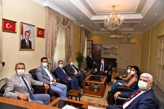 Almanya'nın İzmir Başkonsolosu'ndan Vali Tavlı'ya Ziyaret