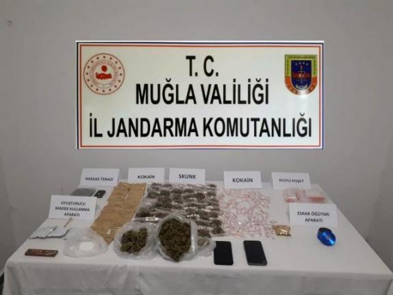Bodrum'da Uyuşturucu Operasyonu: İki Şüpheli Yakalandı