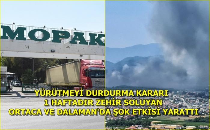 Dalaman'daki Mopak Kağıt Fabrikasını Bakanlık Kapattı, Mahkeme Geri Açtı!