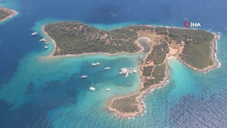 Kleopatra Adasına Ziyaretçi Akını