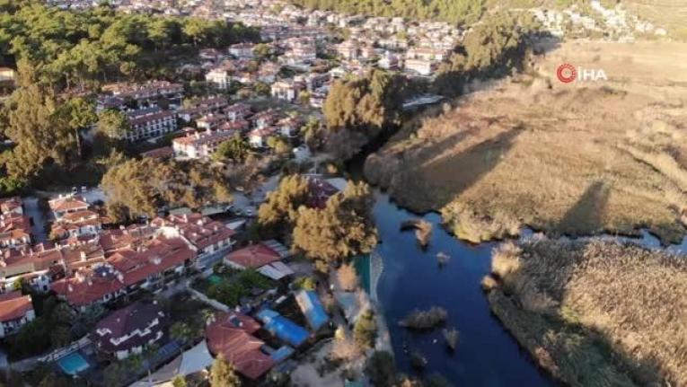 Kuraklık Sebebiyle Kadın Azmağı'nın Suyu Azalınca Giriş Kapatıldı