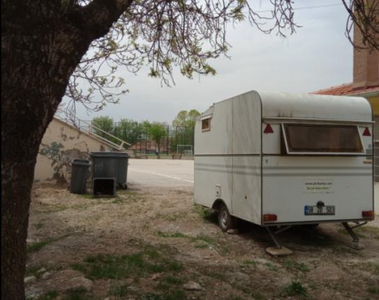 Marmaris'te Kamuya Ait Alanlarda Karavancıların Konaklamalarına İzin Verilmiyor