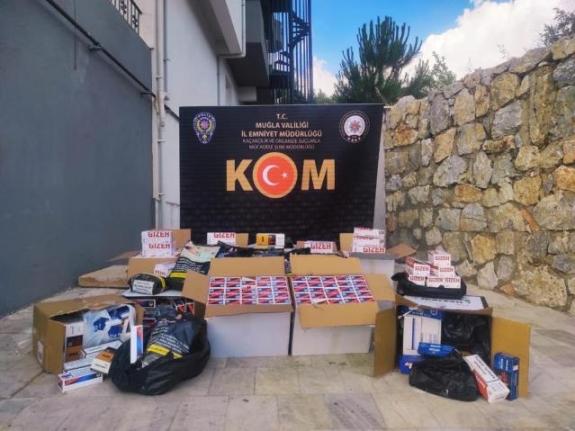 Muğla'daki Sahte İçki ve Kaçakçılık Operasyonlarında 2 Şüpheli Tutuklandı