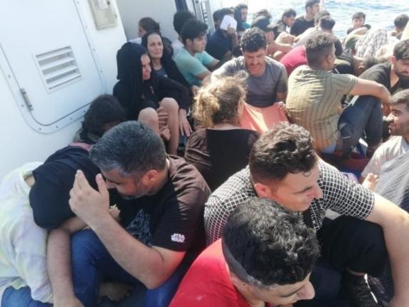 Ortaca'da 56 Düzensiz Göçmen Yakalandı