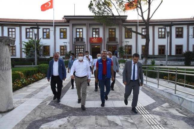 Gençlik ve Spor Bakan Yardımcısı İhsan Selim Baydaş'dan Vali Tavlı'ya Ziyaret